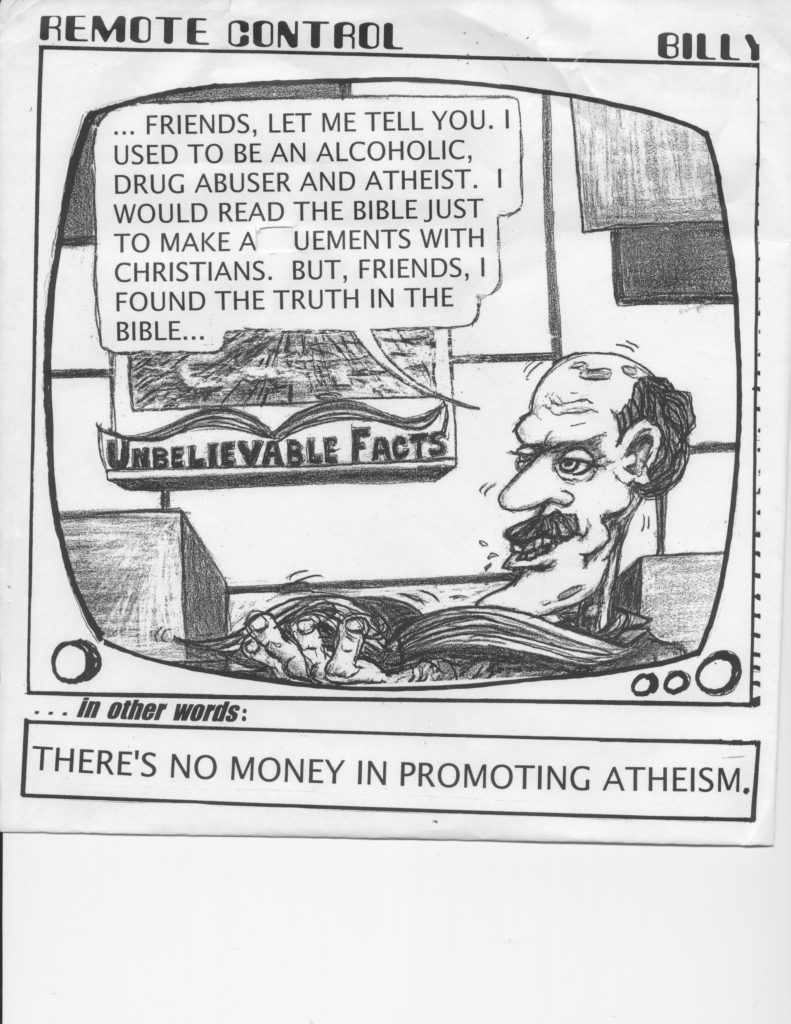 Atheism Don't Sell
